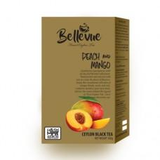 Чай Bellivue черный Персик манго 100г