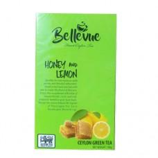 Чай Bellivue зеленый Лимон мёд 100г