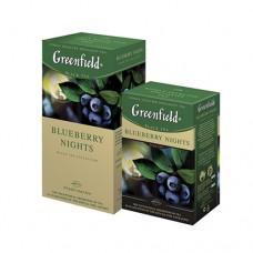 Чай Greenfield Гринфилд Черника Bluberry Nights 100г