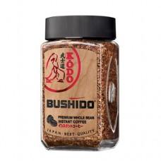 Кофе Bushido Бушидо Кодо растворимый 95г стекло