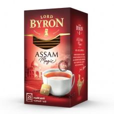 Чай Lord Byron Лорд Байрон черный Ассам 25 пакетов