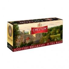 Чай черный Chelton Челтон Шотландский завтрак 25 пакетов