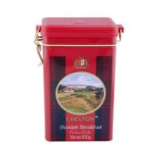 Чай черный Chelton Челтон Шотландский завтрак 100г жесть банка