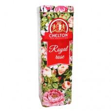 Чай Chelton Челтон Королевские розы черный 80г жесть банка