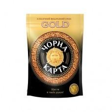 Кофе Черная Карта растворимый Голд 60г пакет