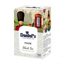 Чай Daniels Дэниелс черный PEKOE 100г
