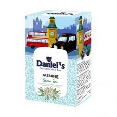 Чай Daniels Дэниелс зеленый Жасмин 100г