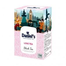 Чай Daniels Дэниелс черный Love Tea 100г