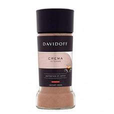 Кофе Davidoff Давидов Crema Intense растворимый 90г стекло