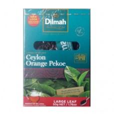 Чай Dilmah Дилмах черный Крупный лист 50г