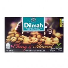 Чай Dilmah Дилмах черный Вишня Миндаль 20 пакетов