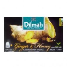 Чай Dilmah Дилмах черный Имбирь Мед 20 пакетов