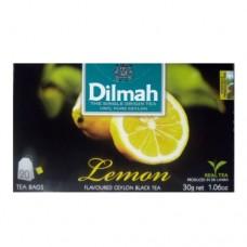 Чай Dilmah Дилмах черный Лимон 20 пакетов