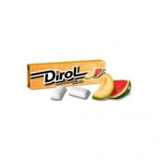 Жевательная резинка Dirol Дирол Дыня арбуз