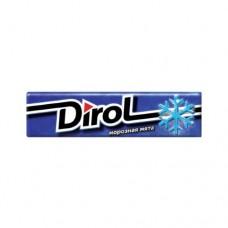 Жевательная резинка Dirol Дирол Морозная мята
