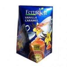 Чай FemRich Фемрич черный Ваниль карамель 100г
