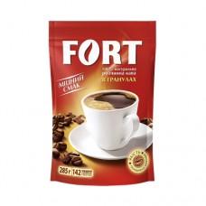 Кофе Fort Форт растворимый гранулированный 140г пакет