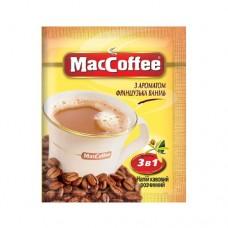 Кофе растворимый MacCoffee Маккофе Французкая ваниль 3в1 20 пакет