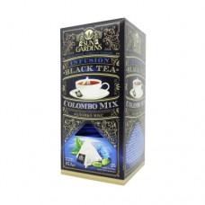 Чай черный+зеленый Sun Gardens Сан Гарденс Коломбо 25 Пирамидок