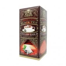 Чай черный Sun Gardens Сан Гарденс Золото Цейлона 25 пирамидок