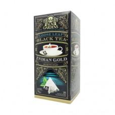 Чай Sun Gardens Сан Гарденс Золото Индии 25 пакетов