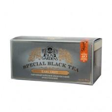 Чай черный Sun Gardens Сан Гарденс Эрл Грей 40 пакетов