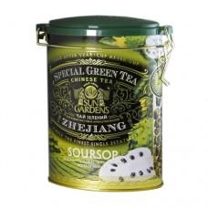 Чай зеленый Sun Gardens Сан Гарденс Саусеп 100г жесть банка