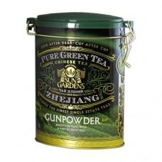 Чай зеленый Sun Gardens Сан Гарденс ГП 100г жесть банка