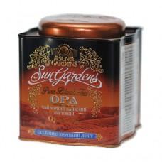 Чай черный Sun Gardens Сан Гарденс ОРА 150г жесть банка