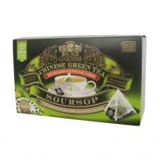 Чай зеленый Sun Gardens Сан Гарденс Саусеп 20 Пирамидок