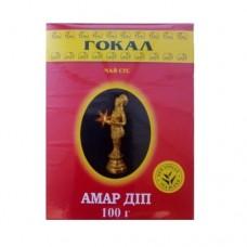 Чай Gokal Гокал Индия Амар Дип черный 100г гранулированный