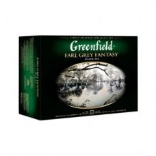 Чай Greenfield Гринфилд Earl Grey Fantasy Эрл Грей 50 сашетов