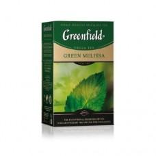 Чай Гринфилд Green Melissa Зелёный мелиса 85г