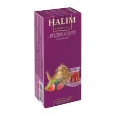 Чай Halim Халим черный Лесные ягоды 25 пакетов
