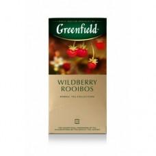 Чай Greenfield Гринфилд Ройбуш дикая ягода Wildberry Rooibos 25 сашетов