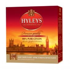 Чай черный Hyleys Хейлис Английский Аристократический 100 пакет