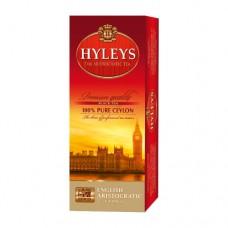 Чай черный Hyleys Хейлис Английский Аристократический 25 пакетов