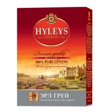 Чай черный Hyleys Хейлис Эрл Грей особо крупнолистовой 100г