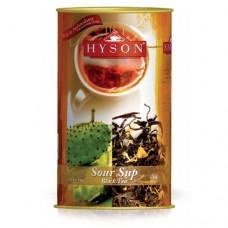 Чай Hyson Хайсон черный саусеп 100г банка
