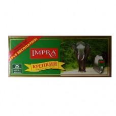 Чай Impra Импра черный Крепкий 25 пакетов