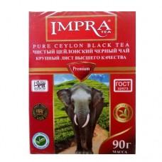 Чай Impra Импра черный Премиум 90г /красная пачка