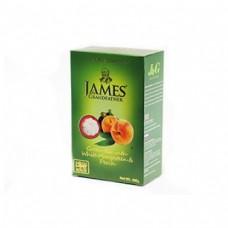 Чай James Grandfather Джеймс зеленый Mangoostin Peach 100г