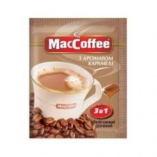 Кофе растворимый MacCoffee Маккофе Карамель 3в1 20 пакет