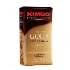 Кофе молотый КИМБО KIMBO GOLD 100% ARABICA 250г