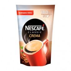 Кофе растворимый Nescafe Нескафе Классик Крем 100г пакет