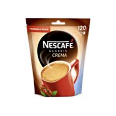 Кофе растворимый Nescafe Нескафе Классик Крем 120г пакет