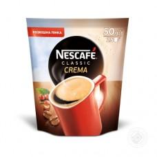 Кофе растворимый Nescafe Нескафе Классик Крем 50г пакет