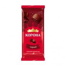 Шоколад Корона черный 85г