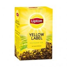 Чай Lipton Липтон черный Yellow label 80г