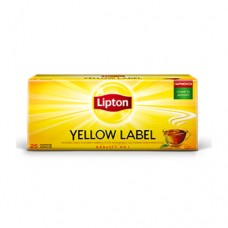 Чай Lipton Липтон черный Yellow label 25 пакетов